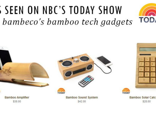 NBC's Today Show Features Bambeco's Bamboo Tech Gadgets