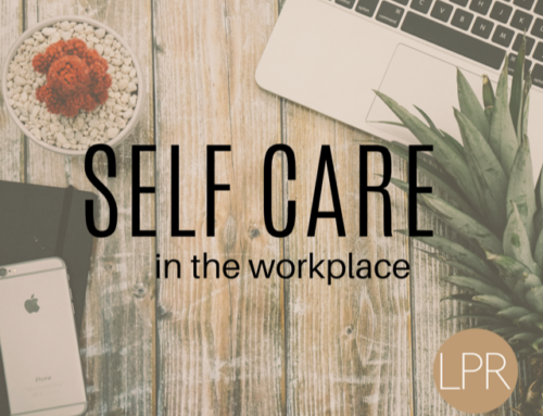 2020 is the Year for Self Care in the Workplace
